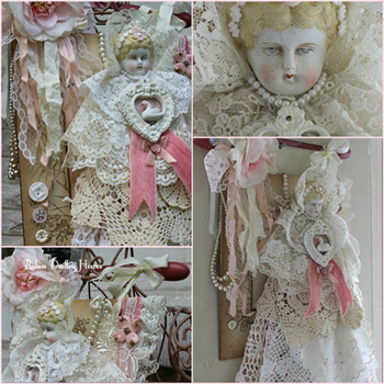 Dreamy Charlotte Assemblage with Robin Dudley Howes