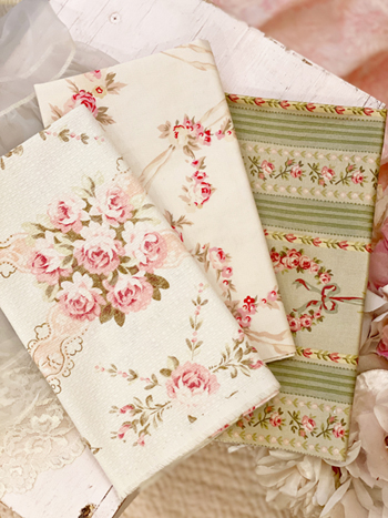 French Fleurs Fabric Bundle