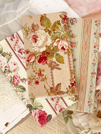 Beautiful Flower Fabric Bundle