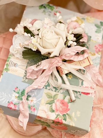 Dreamy Vintage Millinery Bouquet