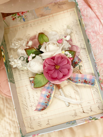 Charming Vintage Millinery Bouquet