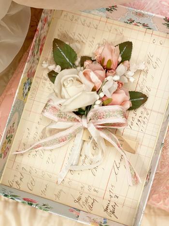 Romantic Vintage Millinery Bouquet