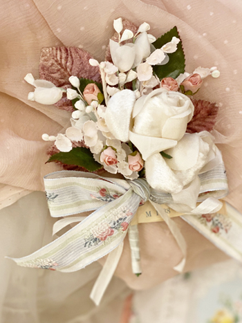 Graceful Vintage Millinery Bouquet
