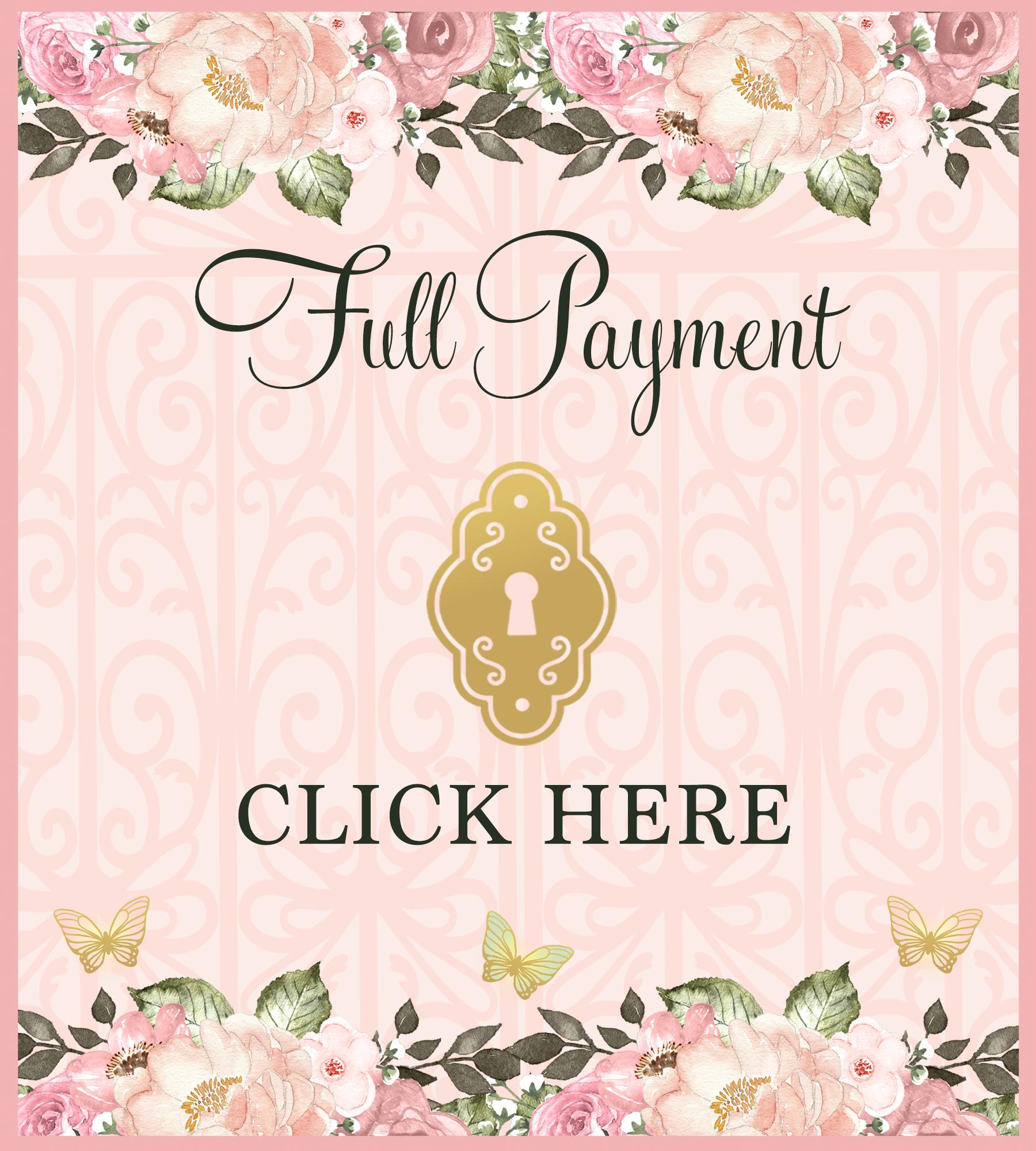A Secret Garden Affaire Full Payment