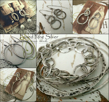 Rustic Fare Fused Fine Silver with Diane Cook