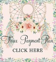 A Dreamy Bohemian Affaire (Three Payment Plan)